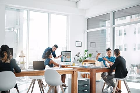 office with people